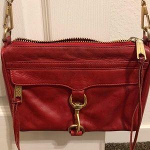 Rebecca Minkoff MINI Mac red bag